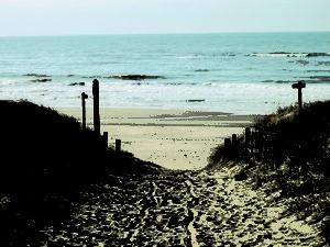 pad aan zee